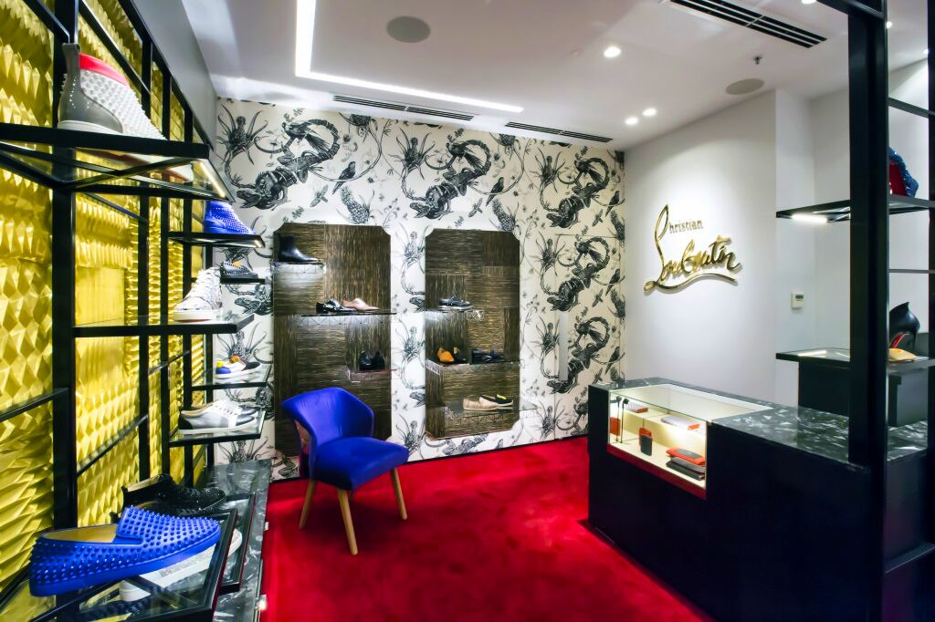 louboutin-Collins-st-shop-fitout renovation